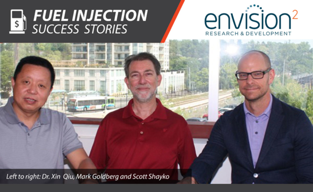 Envision SQ featured in Innovation Guelph Fuel Injection